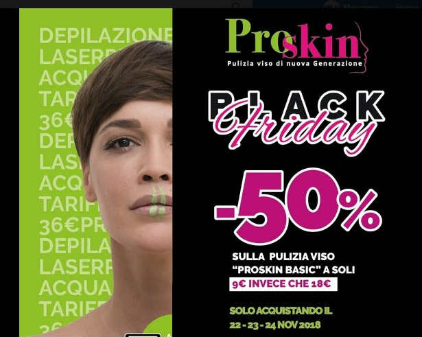 black friday estetista poggibonsi